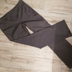 👟Gray yoga pants with control top!